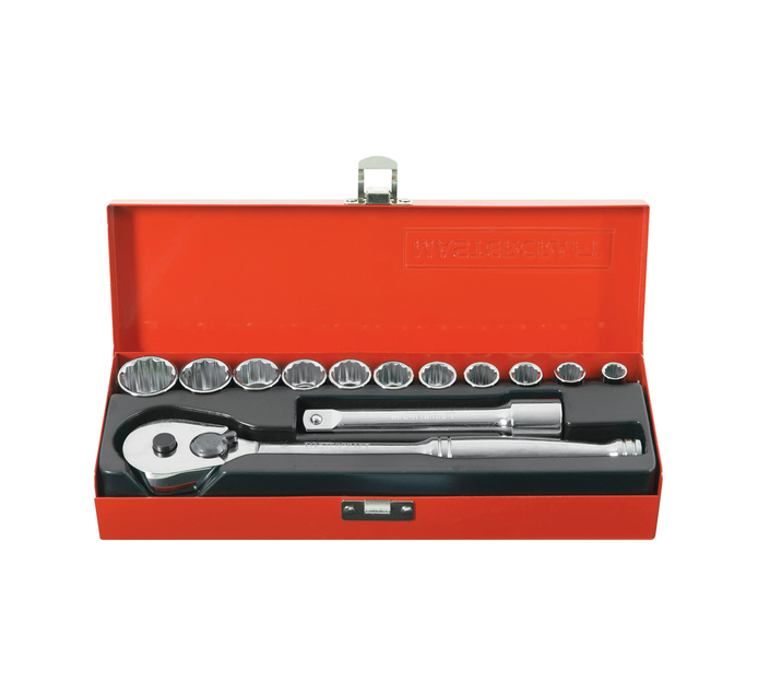 "MASTERCRAFT 13-Piece 1/2"" Socket Set"