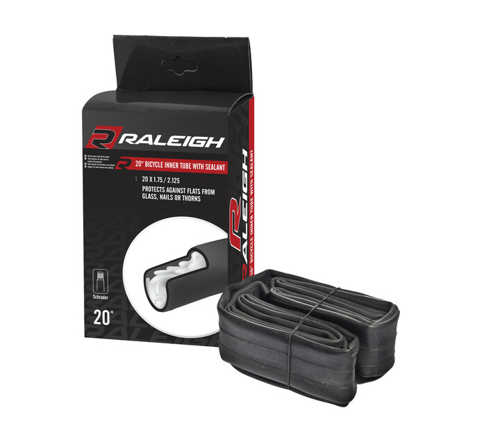 RALEIGH 20 x 1.75 Inner Bike Tube With Sealant