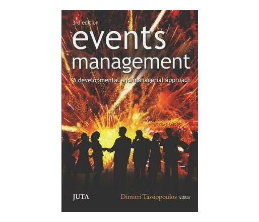 Event management : A developmental and managerial approach