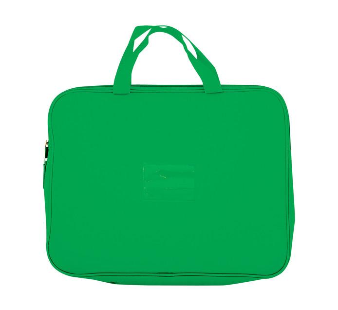 KENZEL A4 Book Bag With Handle Dark Green Each