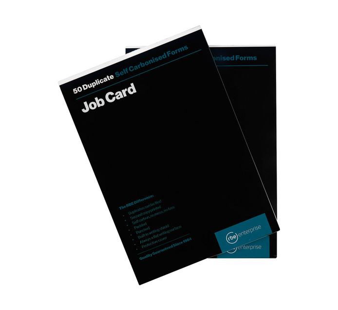 RBE Job Card Book Duplicate 2 Pack