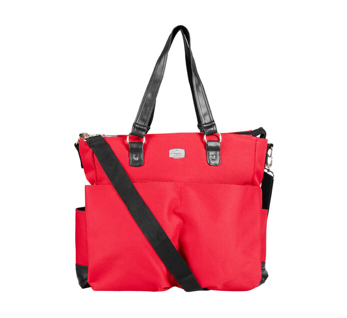 TOSCA BABY DIAPER BAG RED