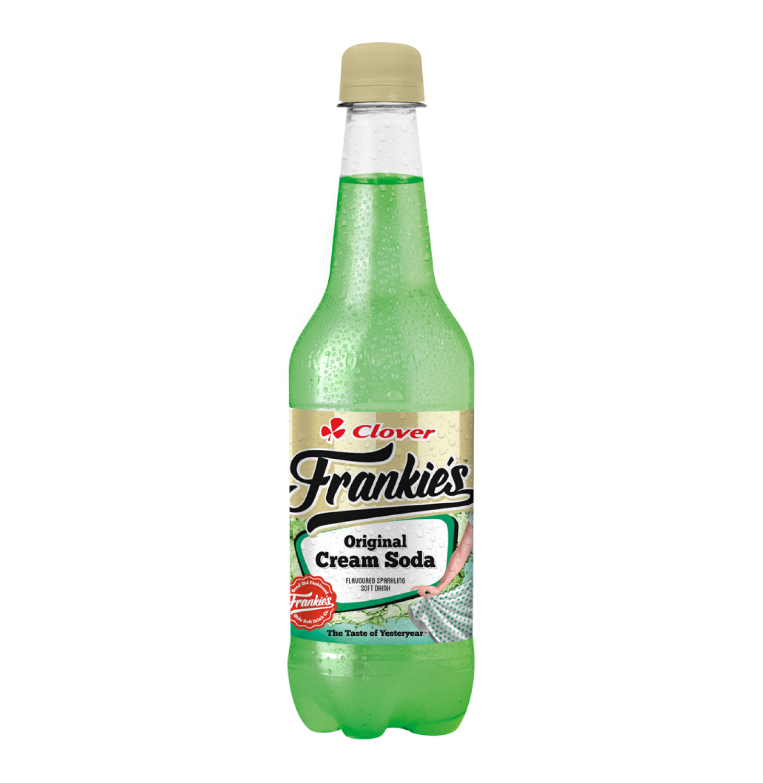 Frankies Carbonated Soft Drink Cream Soda (1 x 400ml)