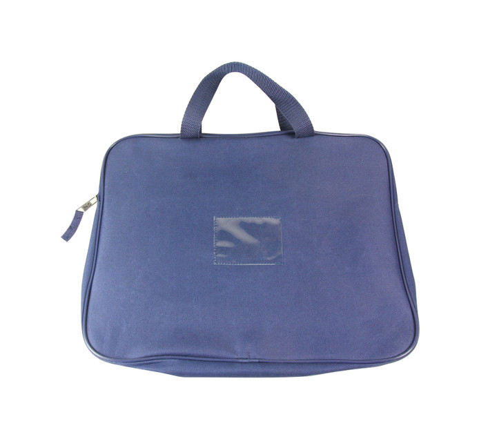 KENZEL A4 Book Bag With Handle Navy Blue