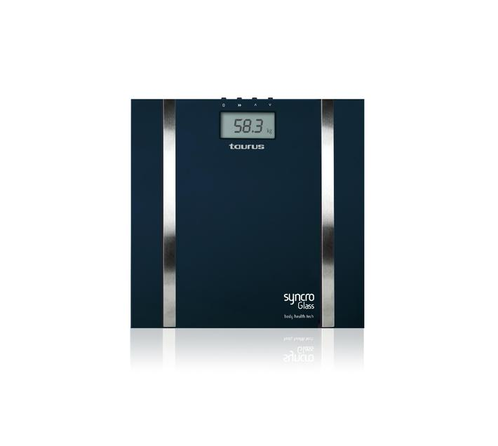 """Bathroom Scale Auto Off Switch Glass Blue 3V """"Syncro Glass"""""""
