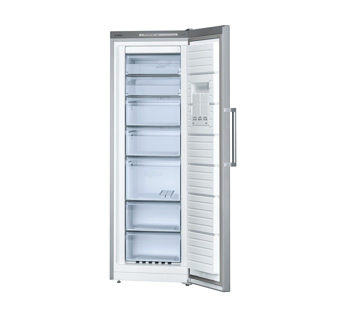 BOSCH 220L UPRIGHT FREEZER SILVER FINISH