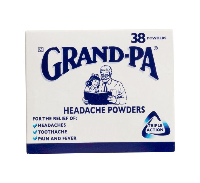 GRAND-PA HEADACHE POWDERS 38'S