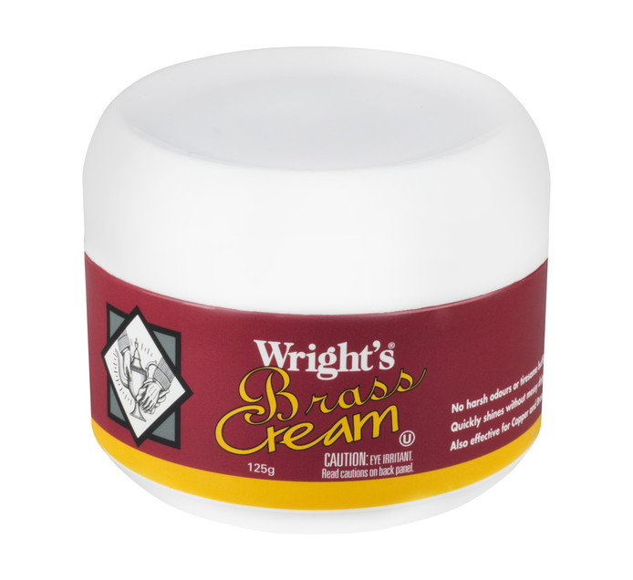 WRIGHTS BRASS CREAM 125G