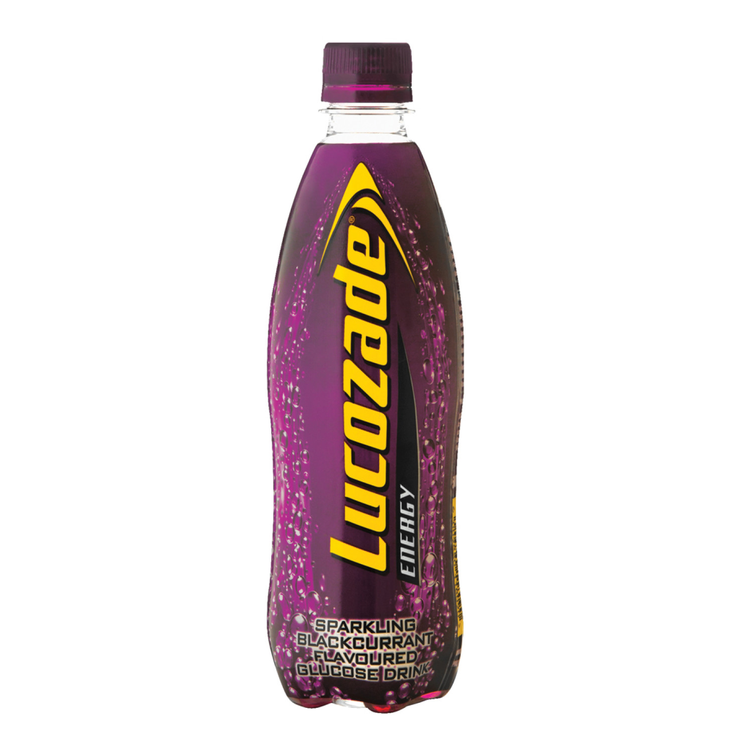 Lucozade Energy Drink Black Current (24 x 500ml)