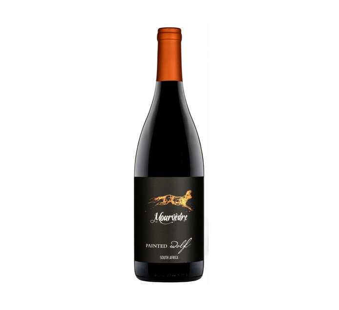 PAINTED WOLF Black Pack Mourvedre 2017 (6 x 750ml)