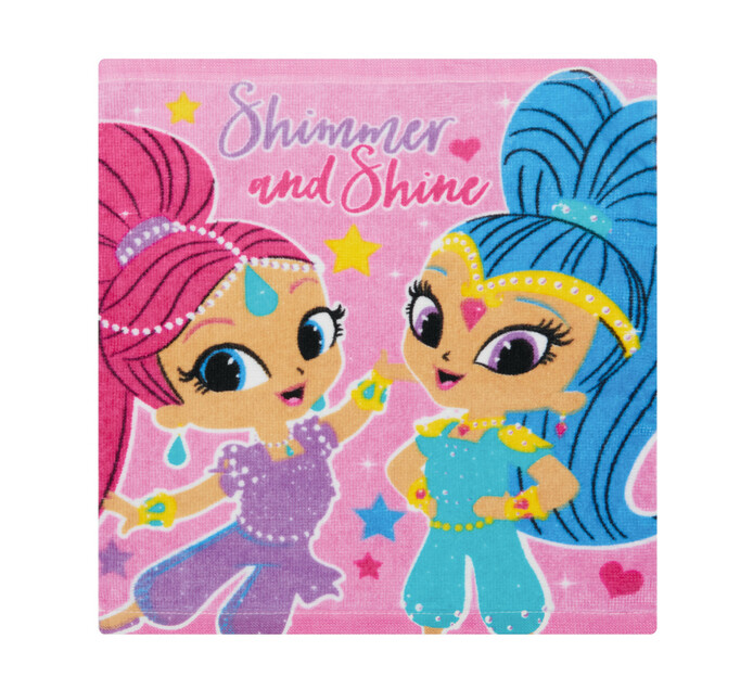 SHIMMER AND SHINE FACE CLOTH