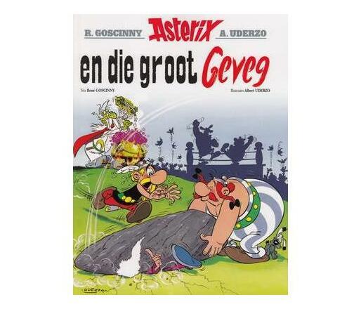 Asterix En Die Groot Geveg: Boek 7