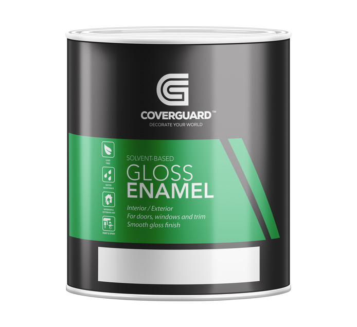 COVERGUARD GLOSS ENAMEL 1L
