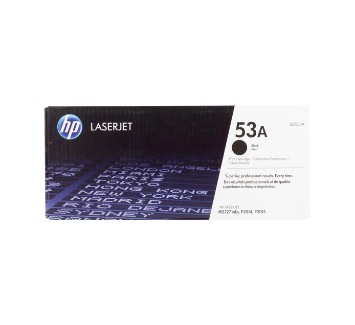 HP 53A Black Toner Cartridge