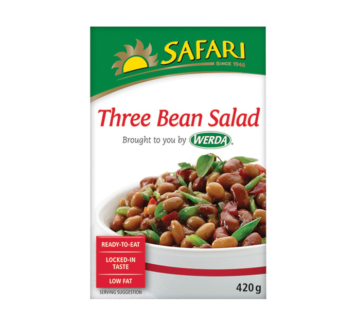 SAFARI Salad 3 Bean (1  x 420g)