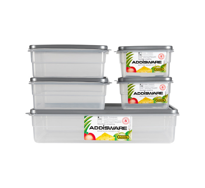 ADDIS 10 Piece Food Saver Set