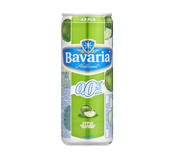 BAVARIA Non Alcoholic Apple Can (6 x 250ml)