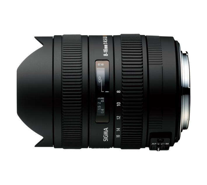 Sigma Lens 8-16/4.5-5.6 Dc Hsm Canon