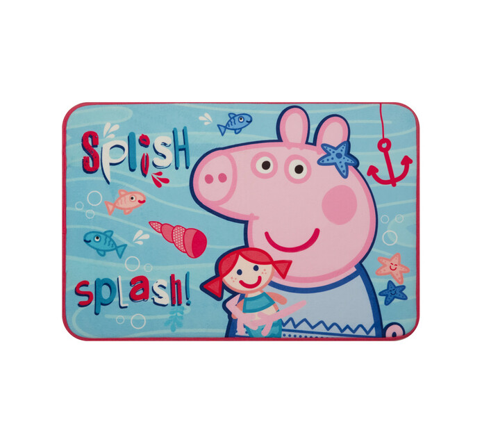CHARACTER 40 cm x 60 cm Area Rug Microfibre Peppa Pig