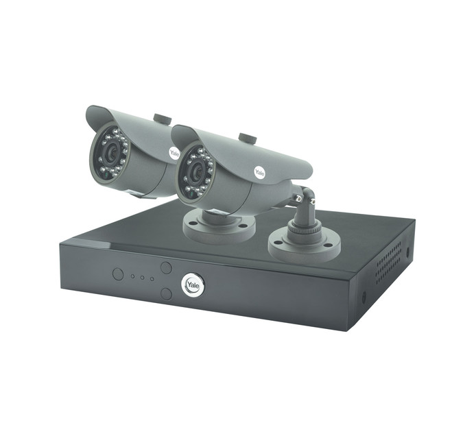YALE 1 TB 4 Channel 2 Camera Kit