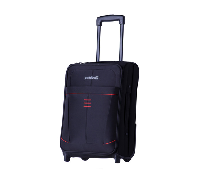 PAKLITE SUPERLITE TROLLEY 48CM BLACK
