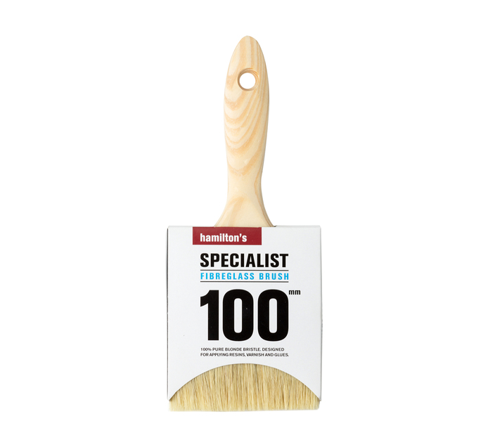HAMILTONS 100MM Fibreglass Brush