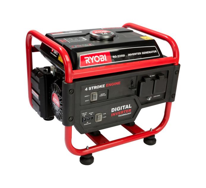RYOBI 2.2 kVA 4-Stroke Inverter Generator