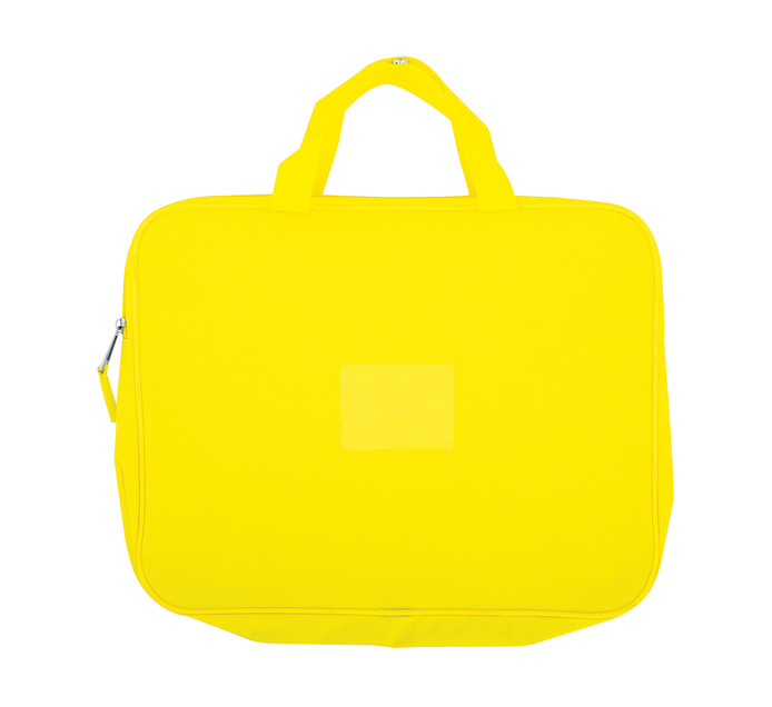 KENZEL A4 Book Bag With Handle Yellow Each