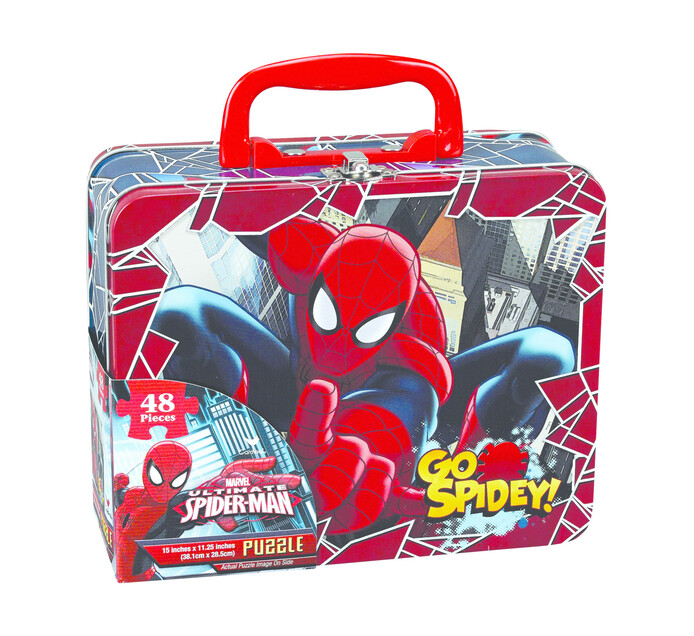 SPIDERMAN Puzzle In Lunch Box