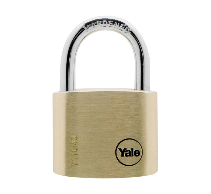 YALE 40mm Brass Padlock