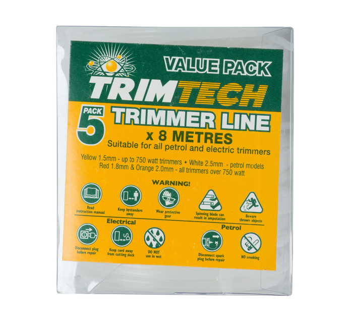 TRIMTECH 2.5 mm Trimmer Replacement Line 5 Pack
