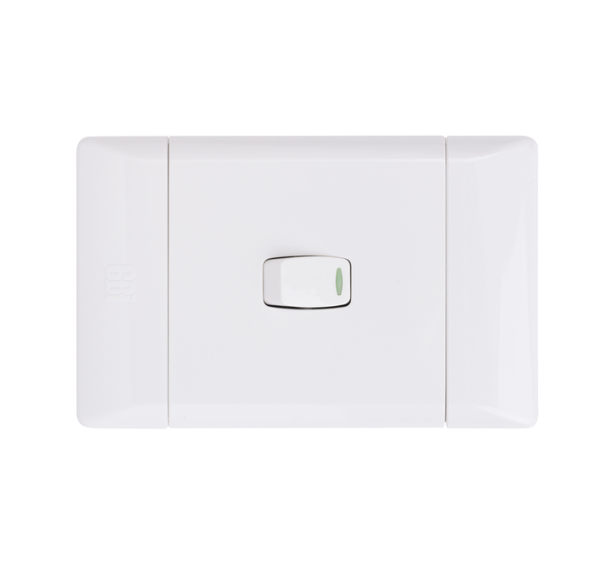 CBI 1LEVER 2WAY SWITCH WHITE