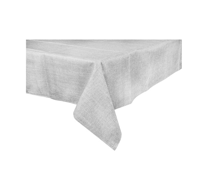 LINEN HOUSE 150 cm x 230 cm Driftwood Tablecloth