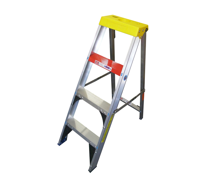 GRAVITY 1.2m Gravity Aluminium 4-Step Ladder