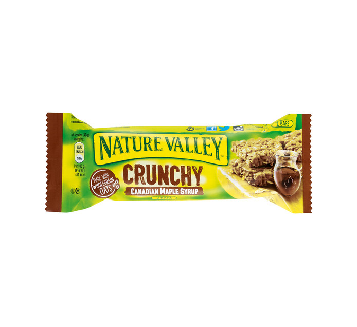 NATURE VALLEY Granola Bars Crunchy Oats and Syrup (18 x 42g)
