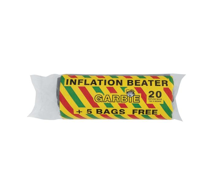 GARBIE SUPERSAVER REFUSE  BAGS ROLL 20'S