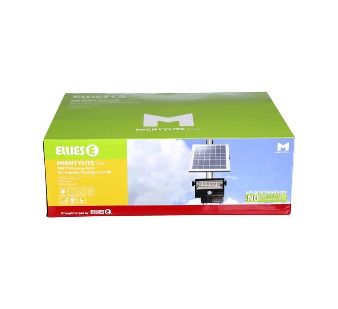 ELLIES 20W LED Solar Security Floodlight