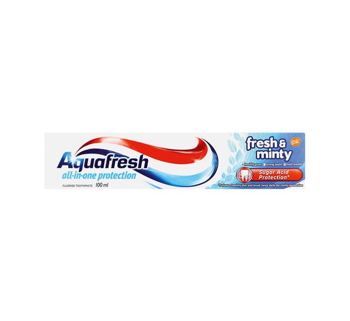 AQUAFRESH Toothpaste Fresh&Minty (1 x 100ML)