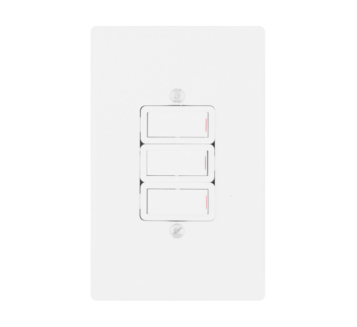 CRABTREE CLASSIC 3LEVER 1 WAY SWITCH