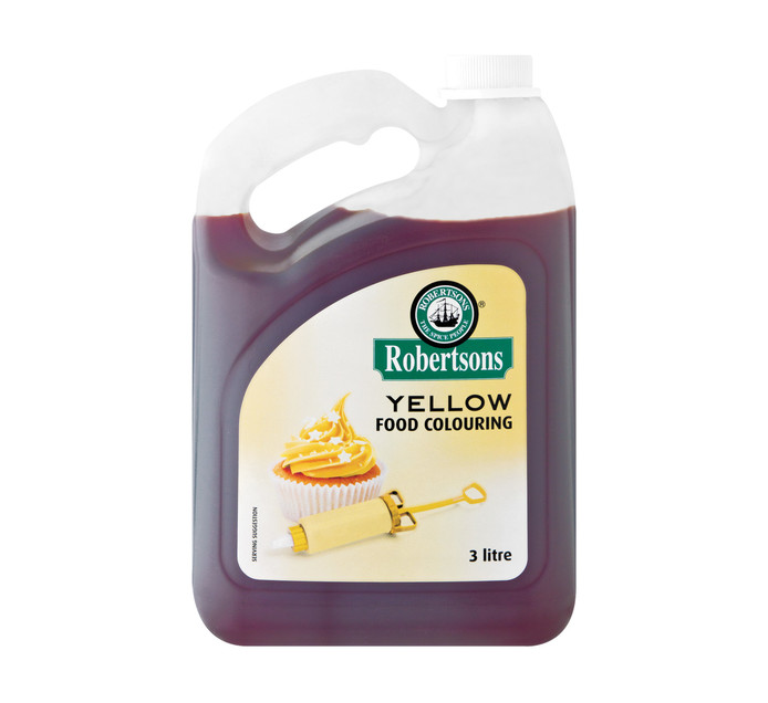 ROBERTSONS 1 x 3lt Food Colouring