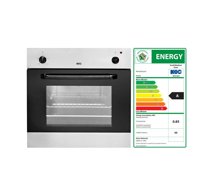 KIC 595mm Eye Level Oven