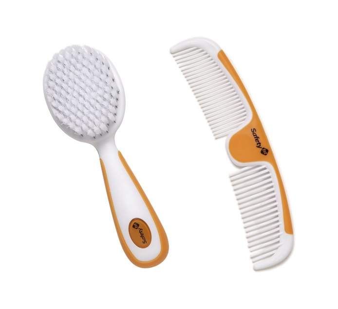 SAFETY FIRST 2pce Brush & Comb