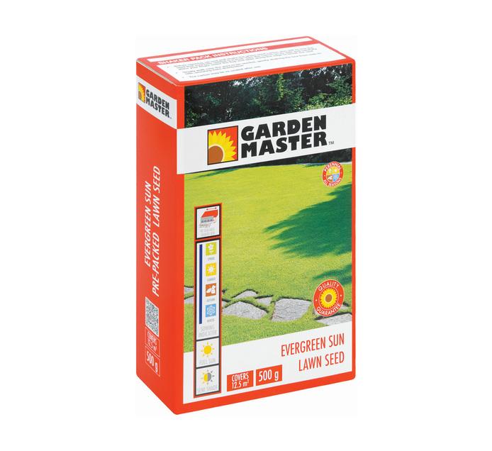 GARDENMASTER 500g Evergreen Lawn Seed