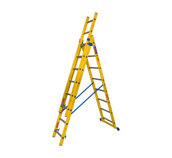 SUPERLITE 2.4m Superlite Fibreglass 5-in-1 Ladder