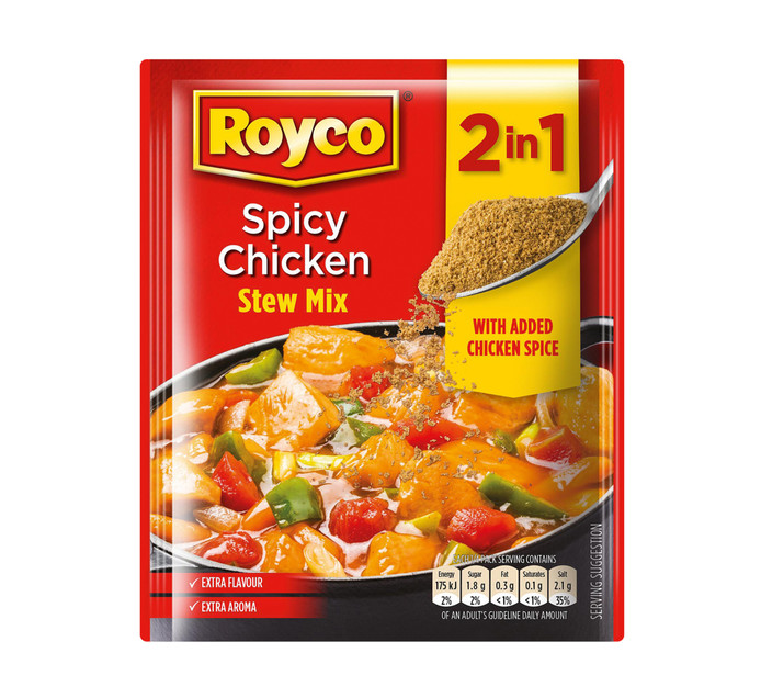ROYCO Soup Stew Mix Spicy Chicken (1 x 50g)