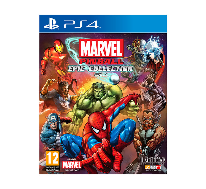 PS4 Marvel Pinball