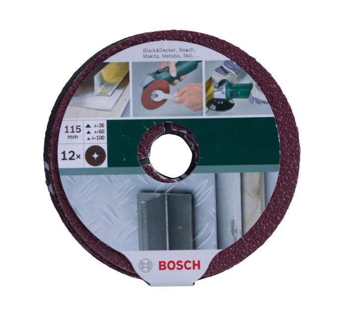 BOSCH 115MM Fiber Sanding Disc