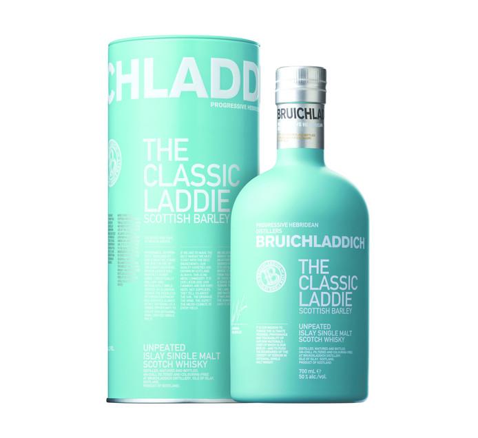 BRUICHLADDICH The Classic Laddie Islay Scottish Barley Malt Whisky (1 x 750ml)