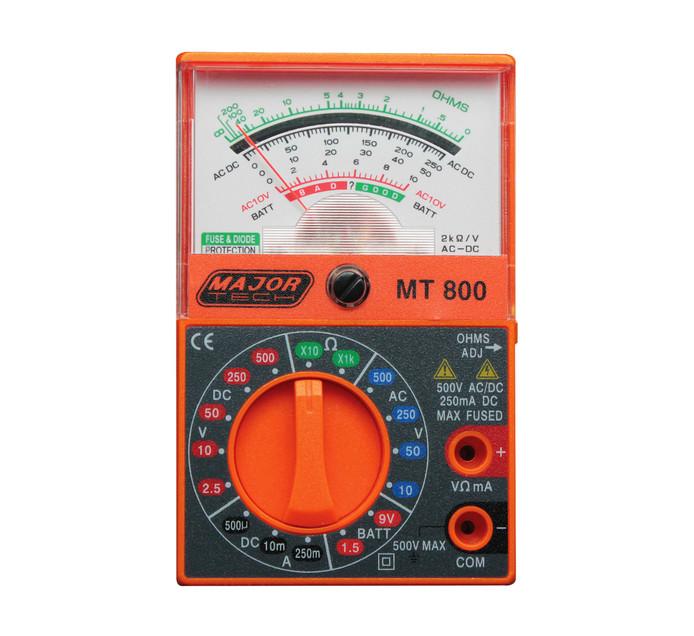 MAJOR TECH Analogue PocketMultimeter