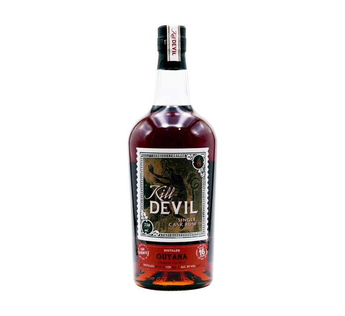KILL DEVIL Guyana Single Cask 16YO Rum (1 x 750ml)